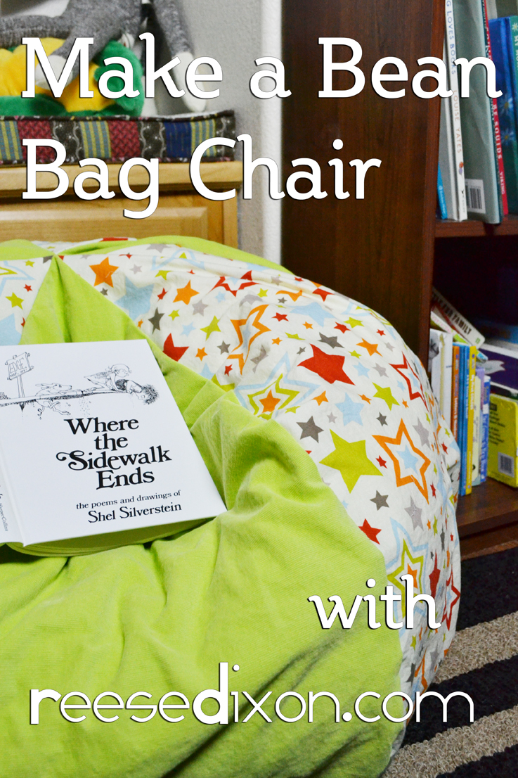 Wondrous Make A Childs Bean Bag Chair Reese Dixon Gmtry Best Dining Table And Chair Ideas Images Gmtryco
