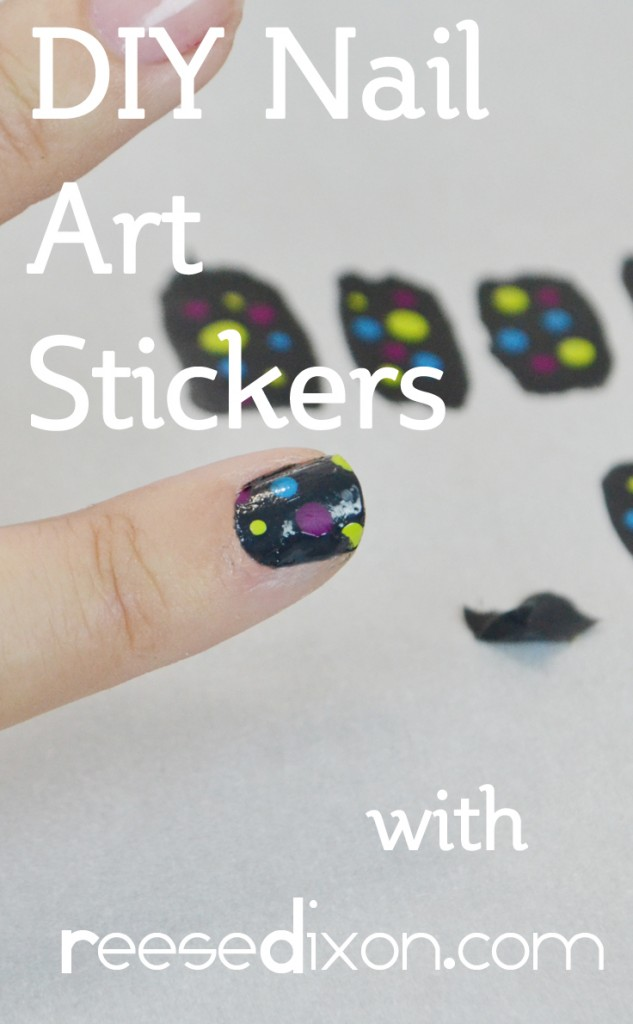DIY Nail Art Stickers
