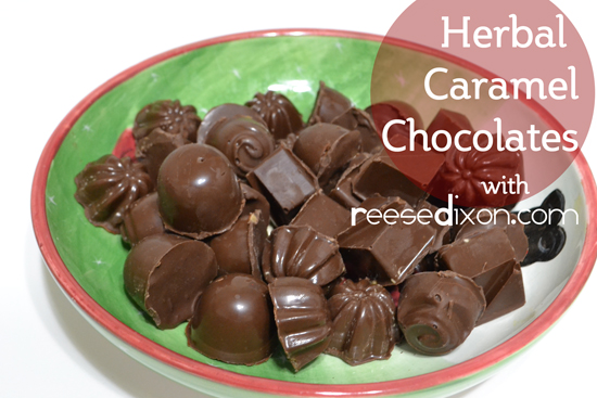 Herbal Caramel Chocolates