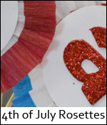 Forth of July Rosettes