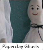 Paperclay Ghosts